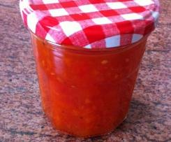 Tomaten Relish (zu gegrilltem/Nachos etc)