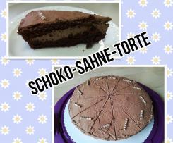 Schoko-Sahne-Torte für Kristin