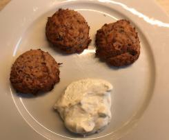 Kidneybohnen Thunfisch Frikadellen (low carb WW geeignet)