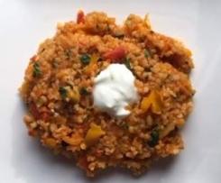 Bulgur-Gemüse-Pilaw