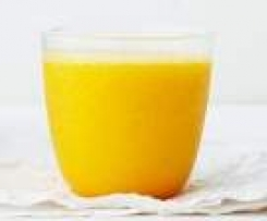 Mango-Banane-Apfel-Smoothie