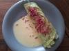 Kräuterpfannkuchen mit Spargel