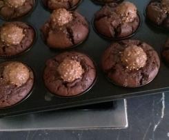 Rocher-Kaffee-Muffins