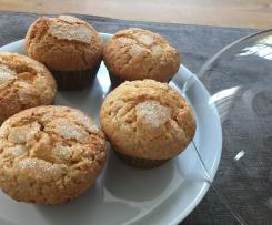 Aprikosen-Dinkelvollkorn Muffins
