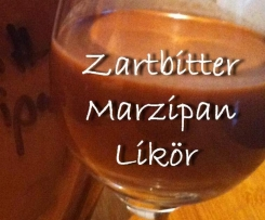 Zartbitter Marzipan Likör