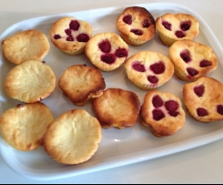 Käse-Muffins fructosearm