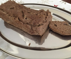 LOW CARB Brot (ohne Hefe, ohne Mehl)