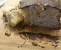 Schoko Nusssahne kuchen