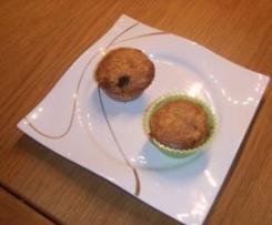 Muffins mit Hackfleischfüllung