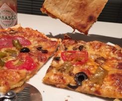 Pizzateig - Anleitung: endlich knusprige Pizza!