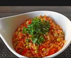 Djuvec-Reis (lecker und wenig Aufwand)