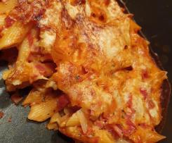 Nudel-Tomaten-Auflauf ohne Vorkochen