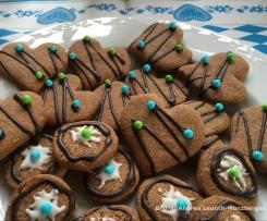 Braunhirse-Kekse
