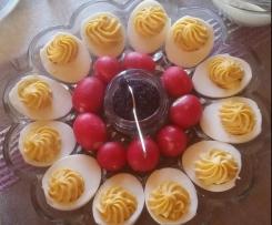 Gefüllte Eier / Russische Eier