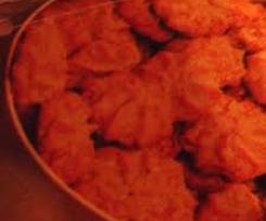 Sesam-Erdnuß-Plätzchen