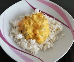Hähnchencurry mit Basmatireis