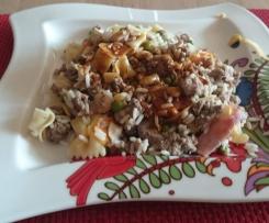 8 Köstlichkeiten mit Nudeln und Reis