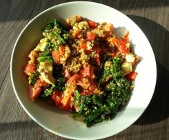 Grünkohl-Hähnchen-Quinoa