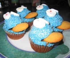 Krümelmonster Cupcakes - Muffins