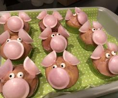 Glücksschweinchen - Muffins
