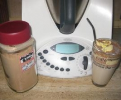 Variation von Eiskaffeepulver