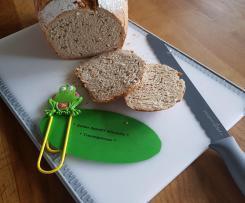 Buttermilch - Buchweizen - Leinsamen Brot