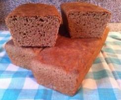 Veganes Vollwert-Toastbrot (laktosefrei)