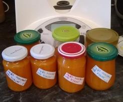 Apfel- Karotten Marmelade mit Ingwer (Ostermarmelade)