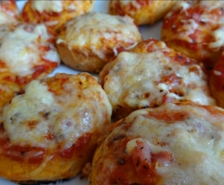 Bubble-Up Pizza mit Homemade-Tomatensauce