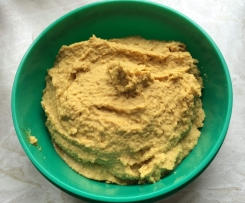 Humus mit Curry