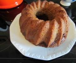 Veganer Schoko-Nuss-Kokos Kuchen