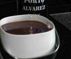 Orangen-Portwein-Sauce