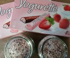 Variation von Yogurette-Cappuccino-Pulver