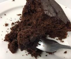 Schokoladenkuchen- mal anders: mit Sauerkraut