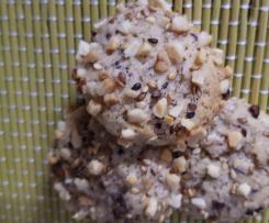Schoko-Sesam-Plätzchen