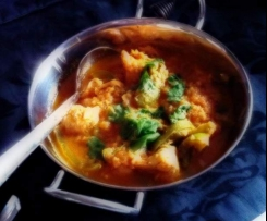 indisches Chicken Bhuna