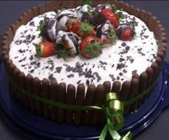 Erdbeer Sahne Torte 1A