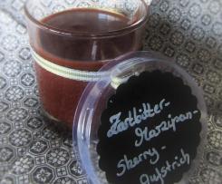 Zartbitter-Marzipan-Sherry Aufstrich