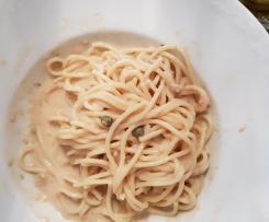 Gerrys Pasta tonnata -  geile Thunfisch-Spaghetti