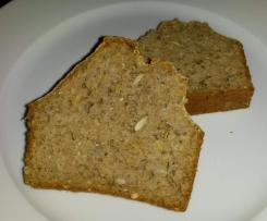 schnelles und saftiges Dinkel-Buchweizen-Brot (basisch)