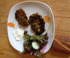 Türkische Zucchinipuffer