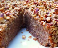 Schneller Kuchen ohne Zucker und Mehl