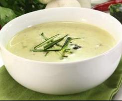 Zuccini Cremesuppe