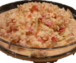 Pikant frischer Krautsalat mit Apfel und Paprika (aus der Vorführung)