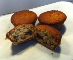 Haferflocken-Cranberry-Muffins