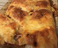 Bacon-Parmesan-Zopf - Keto Low Carb geeignet und Glutenfrei