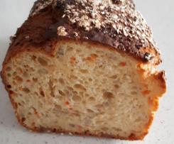 Karotten-Dinkel-Brot laktosefrei