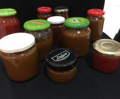 Marmelade aus scharfen Chilischoten