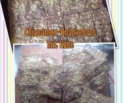 Chiasamen-Knäkebrot mit Käse