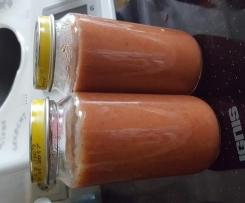 Schneller Obst-Getreidebrei